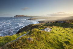 Dingle peninsula ireland. Natural irish west coast on dingle peninsula Stock Images