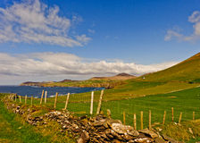 Dingle Peninsula, Ireland. Scenic landscape by sea on Dingle Peninsula in Ireland Royalty Free Stock Photo