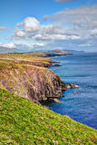 Dingle peninsula, Ireland. Beautiful coast landscape on Dingle peninsula, Ireland Royalty Free Stock Images