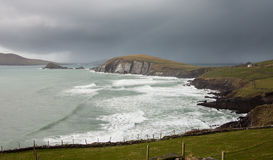 Dingle Peninsula Ireland on cloudy day Royalty Free Stock Images