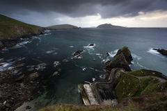 Dingle Peninsula. Stormy weather at Slea Head, Co. Kerry, Ireland Stock Photo