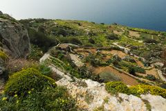 Dingli cliffs in Malta. Great Dingli cliffs in Malta Royalty Free Stock Image