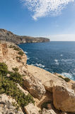 The Dingli Cliffs in Malta Stock Photos