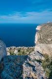 The Dingli Cliffs in Malta Stock Images