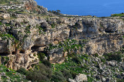 Dingli cliffs,Maslta Royalty Free Stock Image