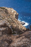Dingli Cliffs, mediterranean island Malta Stock Image