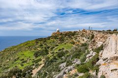 Dingli cliffs, Malta. Dingli cliffs on the southwest coast of Malta Royalty Free Stock Photo