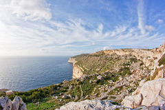 Dingli klippor Royaltyfri Fotografi