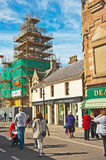 Dingwall high street , Ross-shire Royalty Free Stock Image