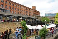 Dingwalls in de Stad van Camden, Londen, het Verenigd Koninkrijk Royalty-vrije Stock Afbeeldingen
