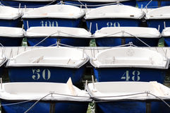 Dingy boats Royalty Free Stock Photo