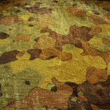 Dingy camouflage. On natural canvas Royalty Free Stock Photography