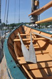 Dingy. Mystic Seaport Dingy on Ship Stock Images