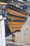 Dingys. Mystic Seaport dingys on a schooner Royalty Free Stock Photography