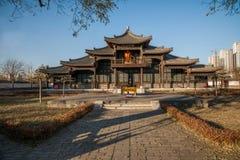 Dingzhou, province de Hebei, yuan de gong Images libres de droits