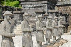 dinh传统khai的雕象 库存照片