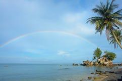 Dinh Cau Pagoda in het eiland van Phu Quoc Stock Fotografie