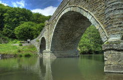 Dinham Bridge, Ludlow Royalty Free Stock Image