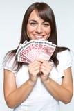 Dinheiro à disposicão Foto de Stock