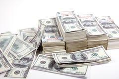 Dinheiro, 100 dólares Fotos de Stock