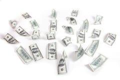 Dinheiro, 100 dólares Imagem de Stock Royalty Free