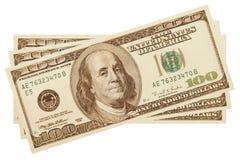 dinheiro $300 Imagens de Stock