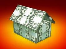 Dinheiro 3d Ilustração Stock