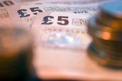 Dinheiro & moedas 3 Foto de Stock Royalty Free