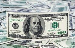 Dinheiro aos dólares americanos Imagens de Stock Royalty Free