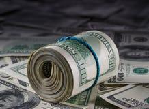Dinheiro aos dólares americanos Foto de Stock