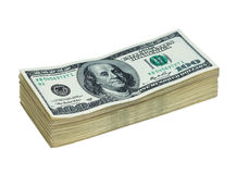 Dinheiro aos dólares americanos Imagem de Stock Royalty Free