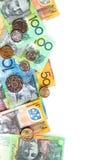 Dinheiro australiano Foto de Stock Royalty Free