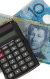 Dinheiro australiano imagens de stock