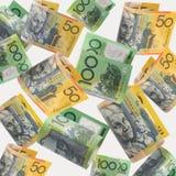 Dinheiro australiano foto de stock