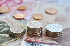 Dinheiro búlgaro Foto de Stock