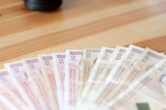Dinheiro bosniano imagens de stock