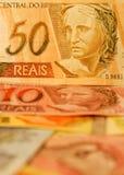 Dinheiro brasileiro Fotos de Stock Royalty Free