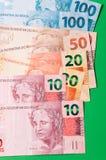 Dinheiro brasileiro Imagens de Stock