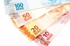 Dinheiro brasileiro Foto de Stock Royalty Free