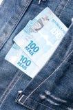 Dinheiro brasileiro Fotografia de Stock