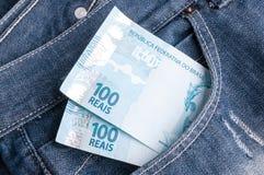 Dinheiro brasileiro Imagem de Stock