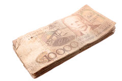 Dinheiro brasileiro retro Fotos de Stock