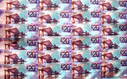 Dinheiro britânico. Fotos de Stock