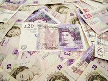 Dinheiro BRITÂNICO Fotos de Stock Royalty Free