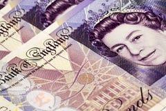 Dinheiro britânico Fotografia de Stock Royalty Free