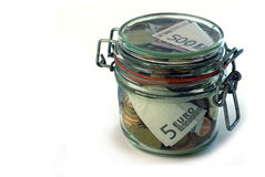 Dinheiro-Caixa Imagens de Stock Royalty Free