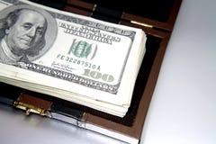 Dinheiro caso que Foto de Stock Royalty Free