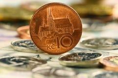 Dinheiro checo fotos de stock royalty free