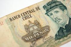Dinheiro chileno Fotografia de Stock