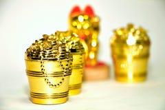 Dinheiro chinês para a decoração Fotografia de Stock Royalty Free